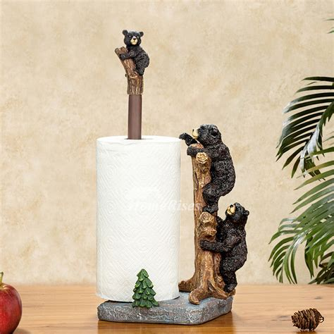 unique free standing toilet paper holder unique creative free standing black bear toilet paper