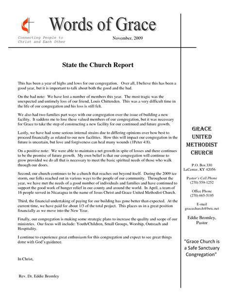 sle monthly financial report church report sle 28 images church report sle 28