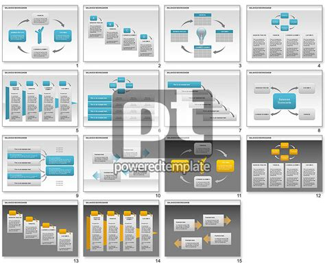 balanced scorecard powerpoint template balanced scorecards for powerpoint presentations
