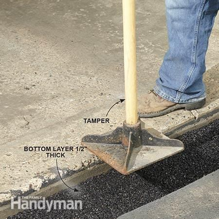 How to Fix a Sinking Driveway   Driveways, Patches and
