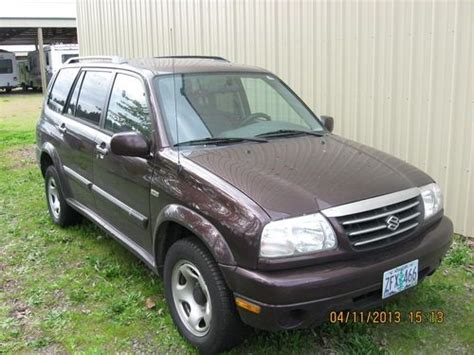 2002 Suzuki Suv Find Used Estate Auction 2002 Suzuki Suv In Salem Oregon