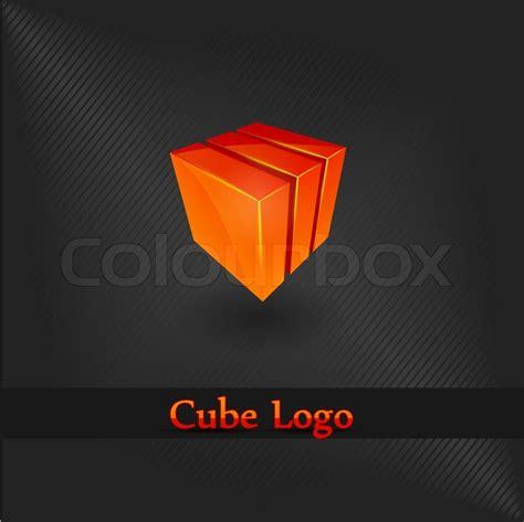 design elements shoo cube logo design element company stock vector colourbox