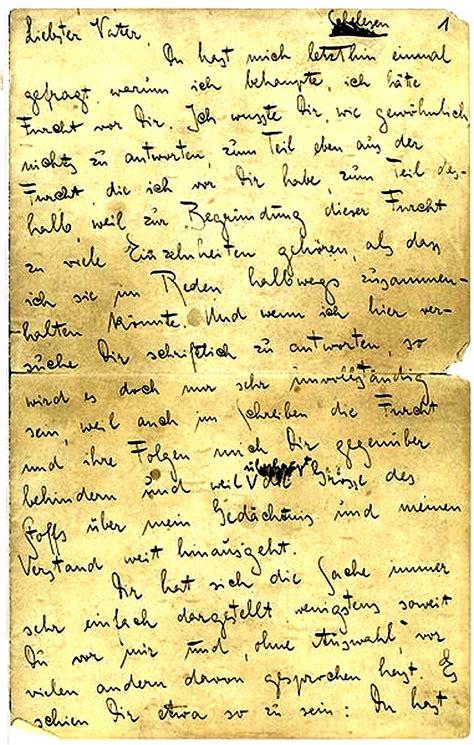 lettere al franz kafka lettera al padre 1 paolo ferrucci