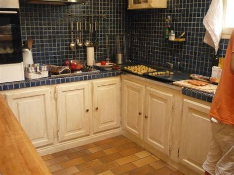 cuisine repeinte Blanc lin   Chinons et Kolorons
