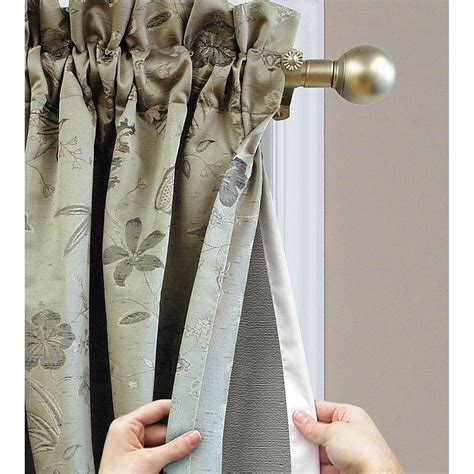 drapery linings thermalogic ultimate blackout curtain liner insulated