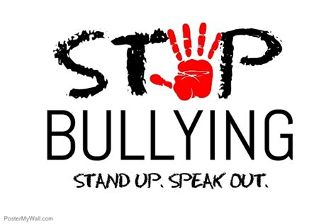 Copy Of Stop Bullying Postermywall Anti Bullying Poster Templates