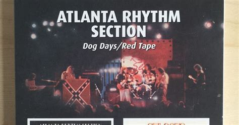 atlanta rythum section sounds good looks good quot dog days red tape quot by atlanta