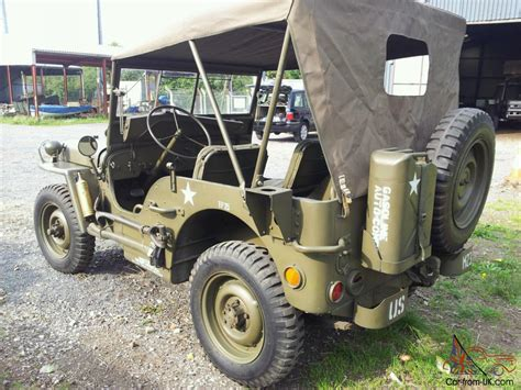 Willys Mb Jeep Willys Mb Jeep 1943 Ww2 Jeep