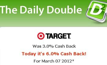 Target Gift Card Cash Back - target cash back doubled online today free 10 gift card today only