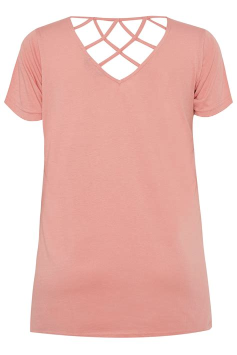 Text Decoration Italic by Plus Size Pink Butterfly Sparkle T Shirt With Lattice Back
