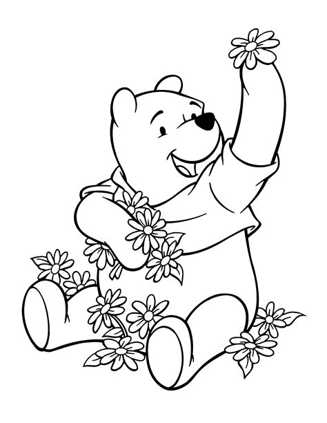 coloring page winnie the pooh coloring pages 114
