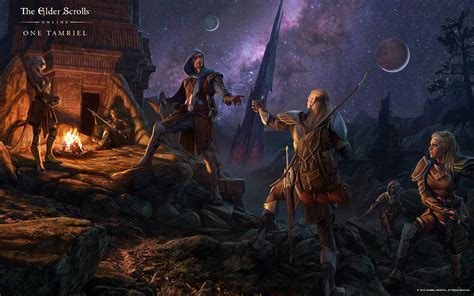 eso wallpaper 4k update 12 brings players together in one tamriel for pc