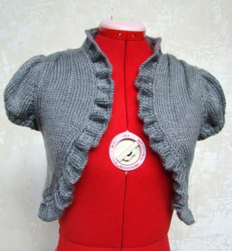 free knitted shrug and bolero patterns shrug and bolero knitting patterns in the loop knitting