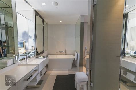 marriott bathrooms jw marriott hotel singapore south beach in pictures