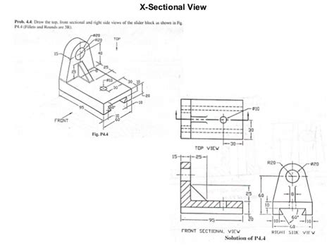 sectional views pdf basic mechanical engineering drawing