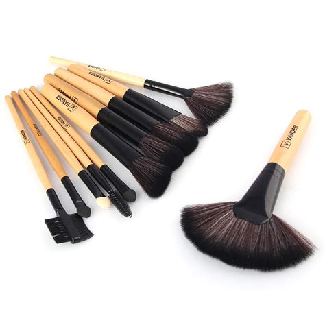 Professional Cosmetic Make Up Brush 32 Set With Kuas Make Up professional 32 kabuki make up brush set and