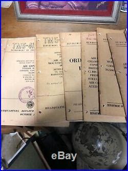 Bulk Lot Of 50s 60s Us Army Us Air Force Technical Manual