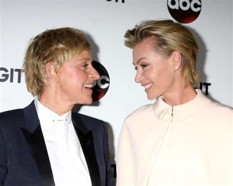Ellen DeGeneres, Portia de Rossi Mark 9 Year Wedding