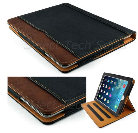 Original Mini Leather Smart Casing Stand Soft Cover Kulit 1 soft leather wallet smart stand cover for apple 2 3 4 air mini pro ebay