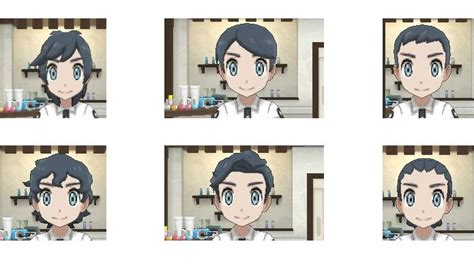 hairstyles in pokemon moon male modern quiff pokemon sun and moon haircuts images