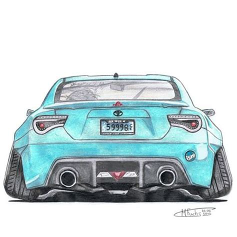 stanced cars drawing cars and drawings by marc marc fuchs instagram photos
