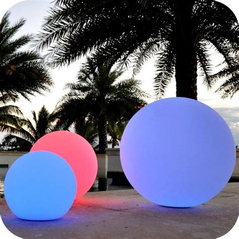 plastic outdoor lights plastic light sphere outdoor sphere led lighting
