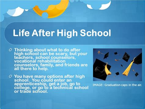 Getting An Mba After High School by Taking The Next Step After High School Ppt