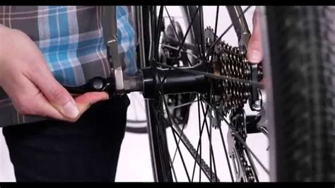Rear Wheel Removal & Install with Quick Release - YouTube Diamondback Bicycles
