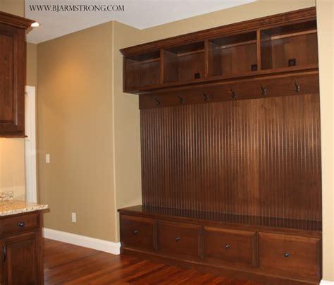 Built in Locker Organization   Traditional   Laundry Room