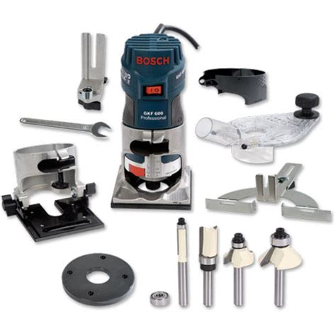bosch gkf 600 router 1 4 quot package deal 1 4 quot routers