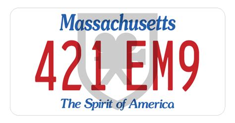 Vanity Plates Ma by Massachusetts License Plate The Specialists Ltd The