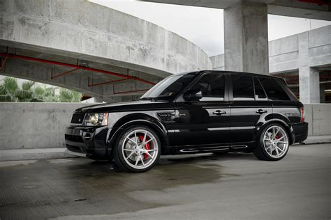 range rover sport rims 2011 range rover sport supercharged on 22 quot velos s3 forged