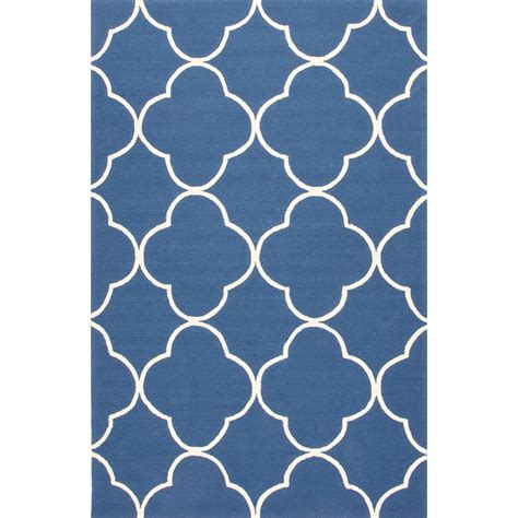 indoor outdoor rugs 6x9 indoor outdoor trellis chain and tile pattern blue polypropylene area rug 7 6x9 6 walmart