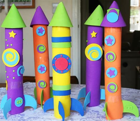 How To Make A Paper Rocket For School Project - 24 best images about rocket crafts on