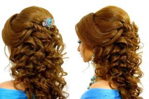 romantic wedding hairstyle for long tutorial youtube