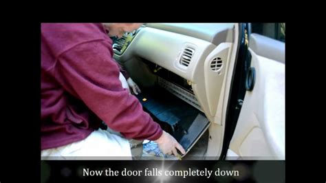 Honda Odyssey Cabin Air Filter by Honda Odyssey Cabin Air Filter Change How To