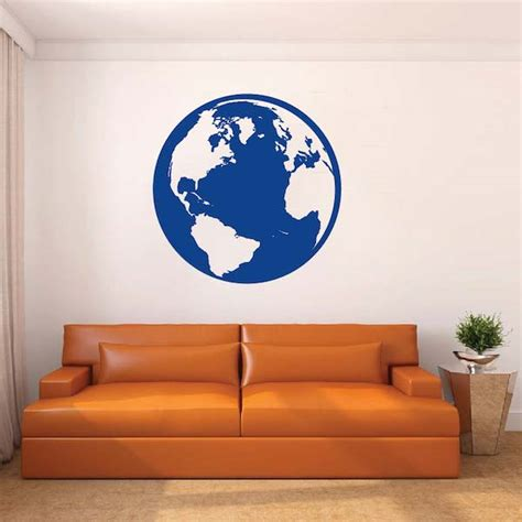 trendy wall designs classic globe wall decal vinyl wall art from trendy wall