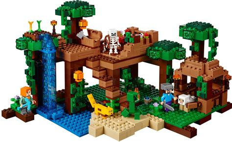 lego minecraft house buy lego minecraft the jungle tree house 21125 green