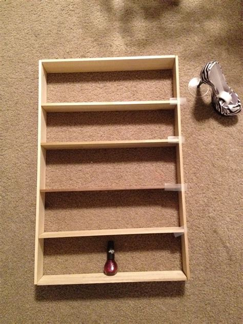 Little Bit Of Everything Diy Nail Polish Rack