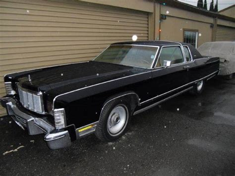 1976 lincoln town car for sale used 1976 lincoln town car for sale carsforsale