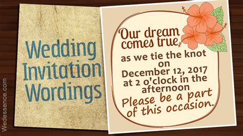 Informal Wedding Invitations by Informal Wedding Invitation Wordings For An Affectionate Touch