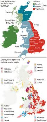 new genetic map of britain shows waves of immigration