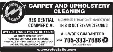Upholstery Cleaning Barrie Roto Static Carpet Cleaning System Opening Hours 612