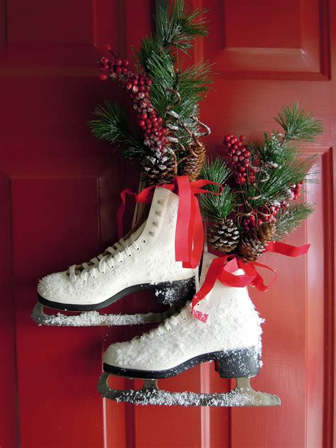 How To Decorate Roller Skates by Front Door Decor