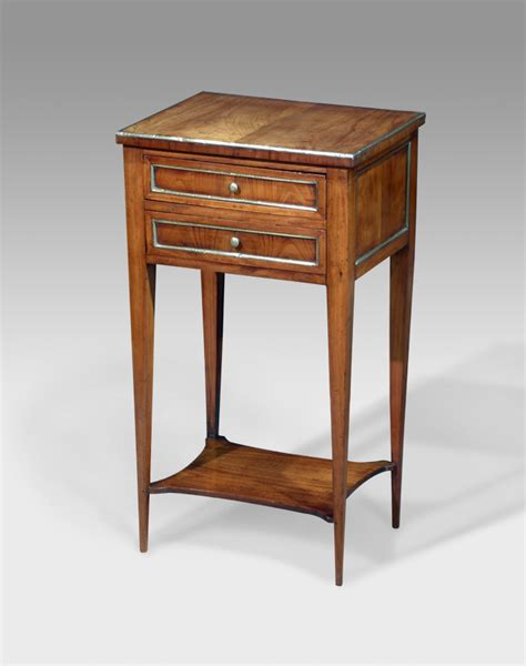Tripod Bedside Table Antique Fruitwood Table Bedside Table Nightstand