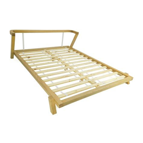 cb2 bed frame 72 off cb2 cb2 siesta queen size bed beds