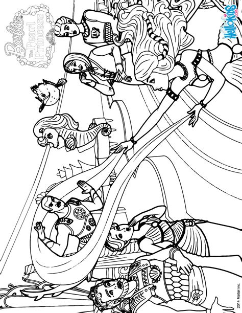 Pearl Princess Barbie Coloring Pages Coloring Pages Pearl Princess Coloring Pages