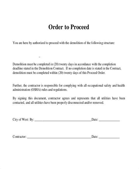 Sle Contractor Contract Form 7 Free Documents In Pdf Demolition Contract Template