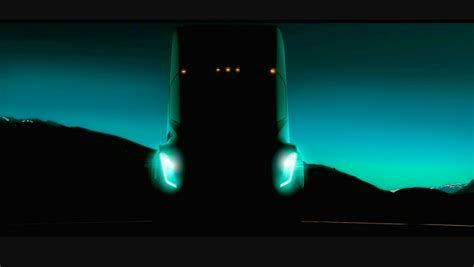 look at tesla s electric semi truck which can be