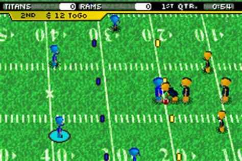 backyard football gba play backyard football 2006 online play game boy advance